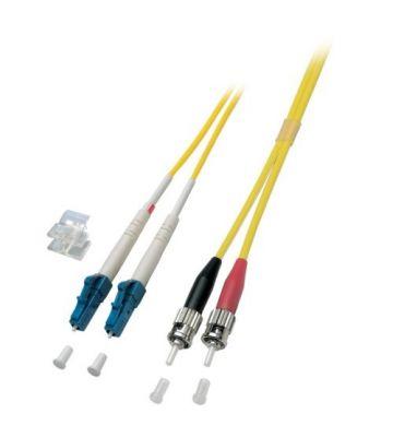 OS2 duplex glasvezel kabel LC-ST 0,50m