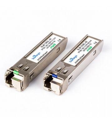 SFP (mini-GBIC) LC module singlemode TX1310/RX1490nm 10km